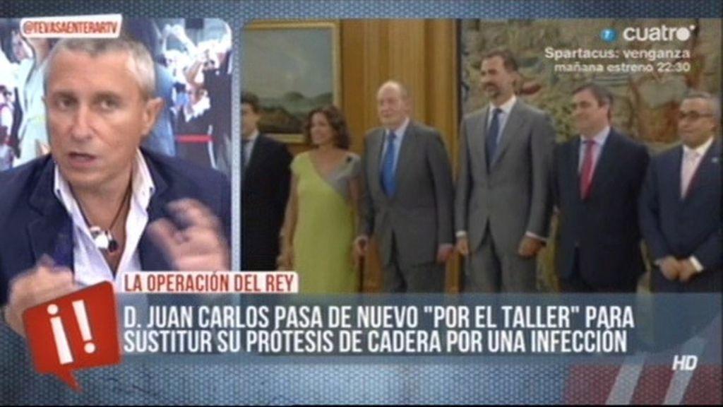 """Melchor Miralles: """"Si le sucede algo al Rey en la operación, estamos sin Jefe del Estado"""""""