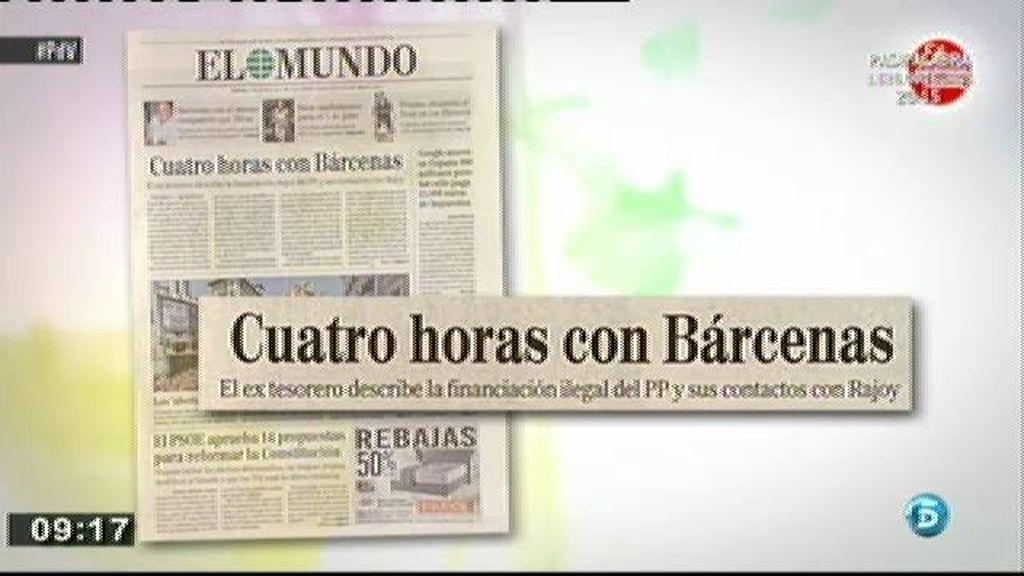 Bárcenas reconoce a Pedro J. que durante 20 años el PP se financió de forma ilegal