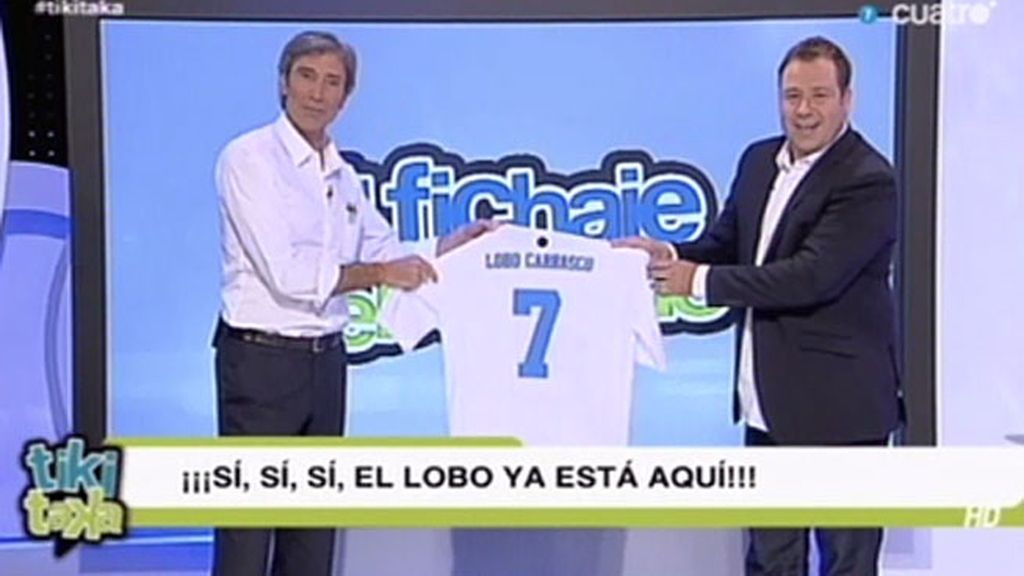 El 'Lobo'Carrasco, el Neymar de Tiki Taka