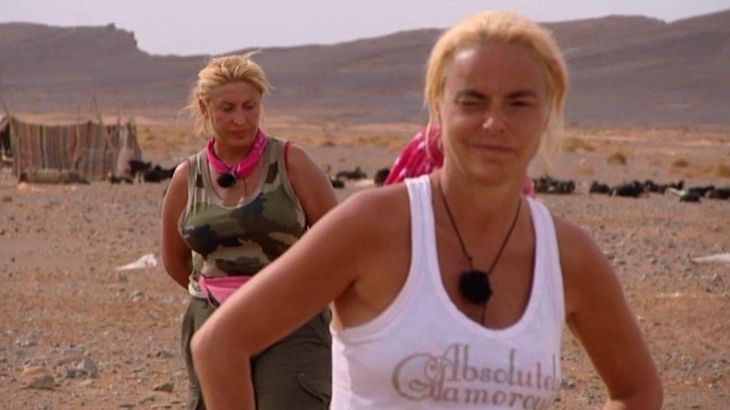 Raquel y Leticia Sabater, expulsadas