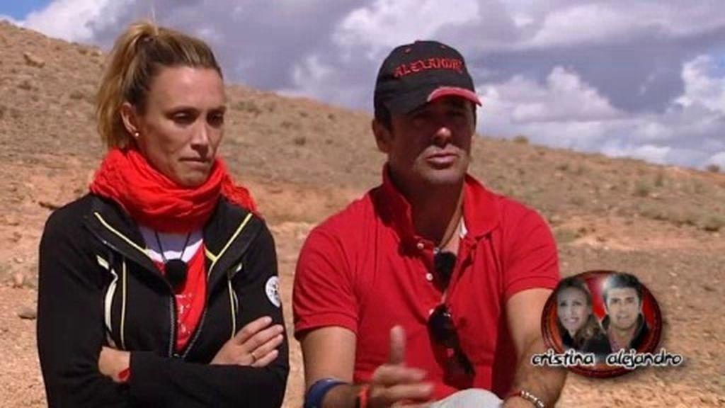 Cristina y Alejandro, directos a la cuarta fase
