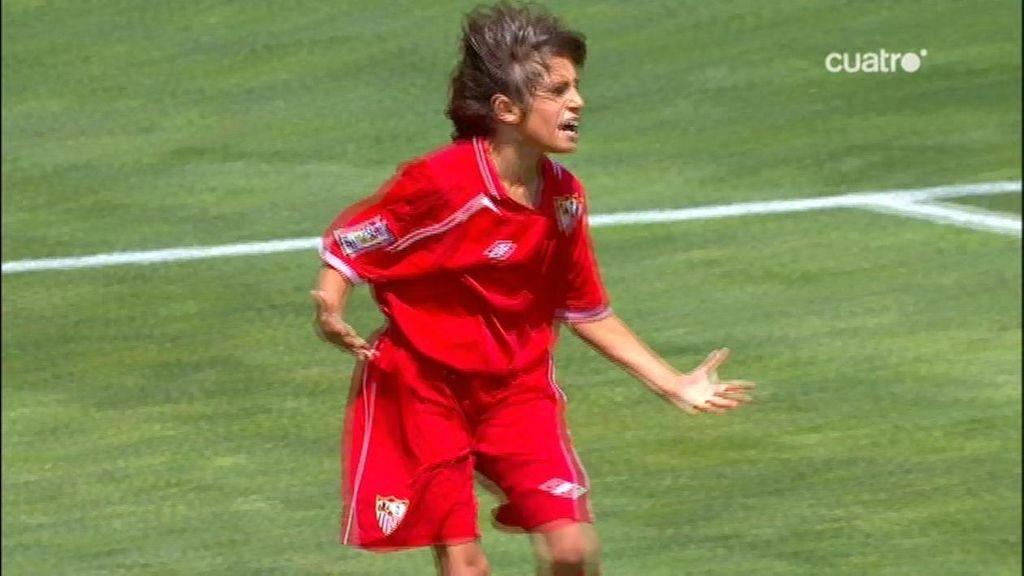 Gol: Valencia 0-2 Sevilla (min. 22)