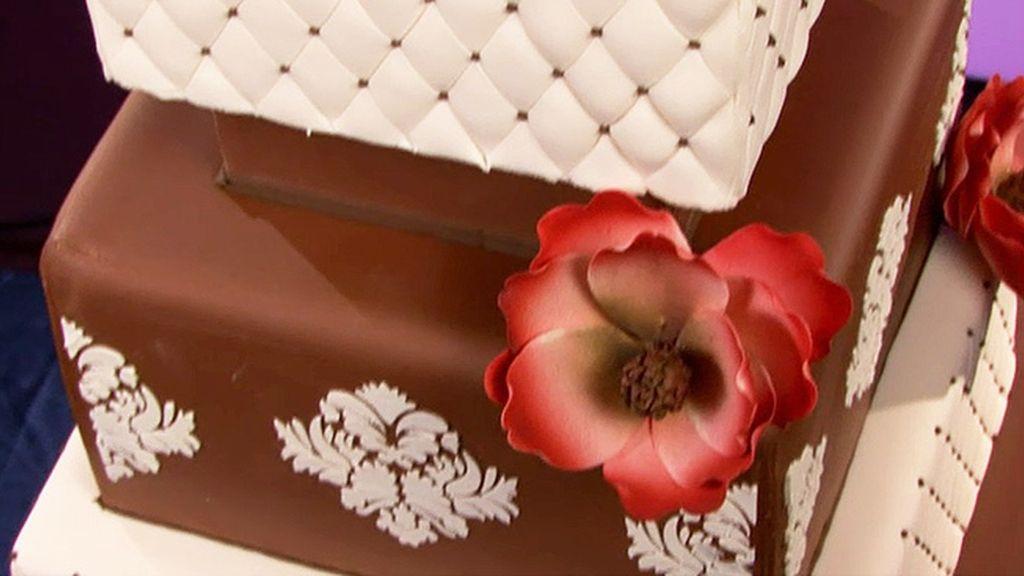 Tarta a través del espejo, tarta dulce elegancia y tarta esqueleto (T03xP09)