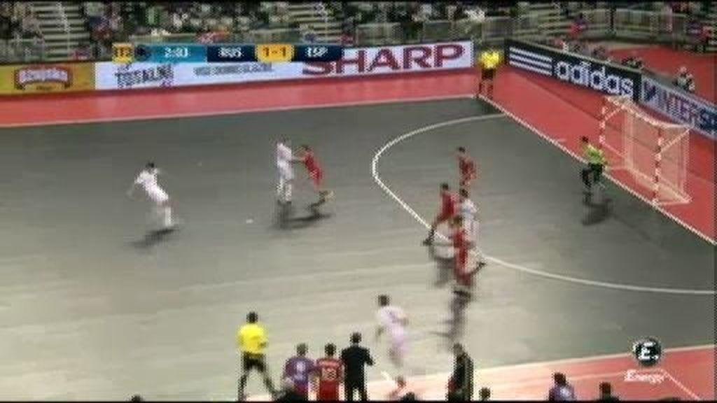 Gol de Lozano (1-2), minuto 48