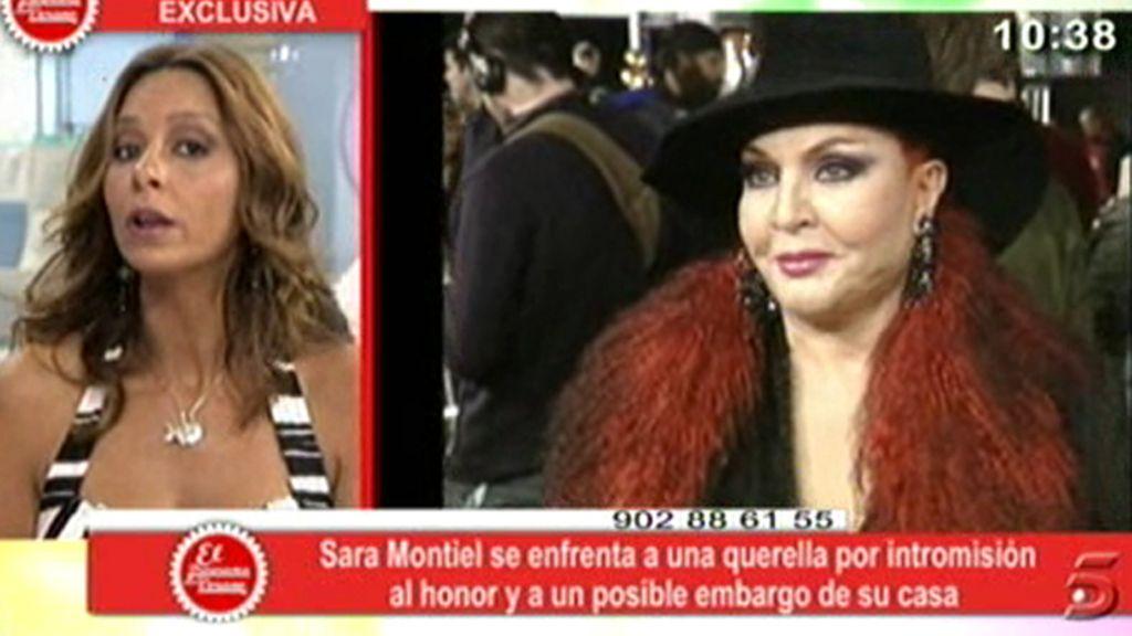 Sara Montiel podría ser embargada