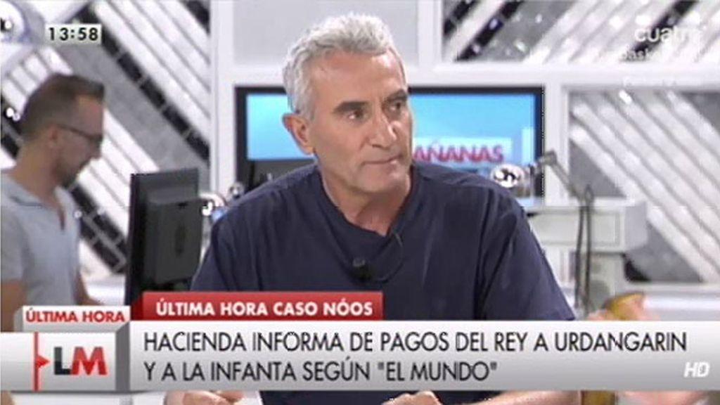 """Diego Cañamero: """"Cuando el hambre llama a tu puerta, hay que reaccionar"""""""