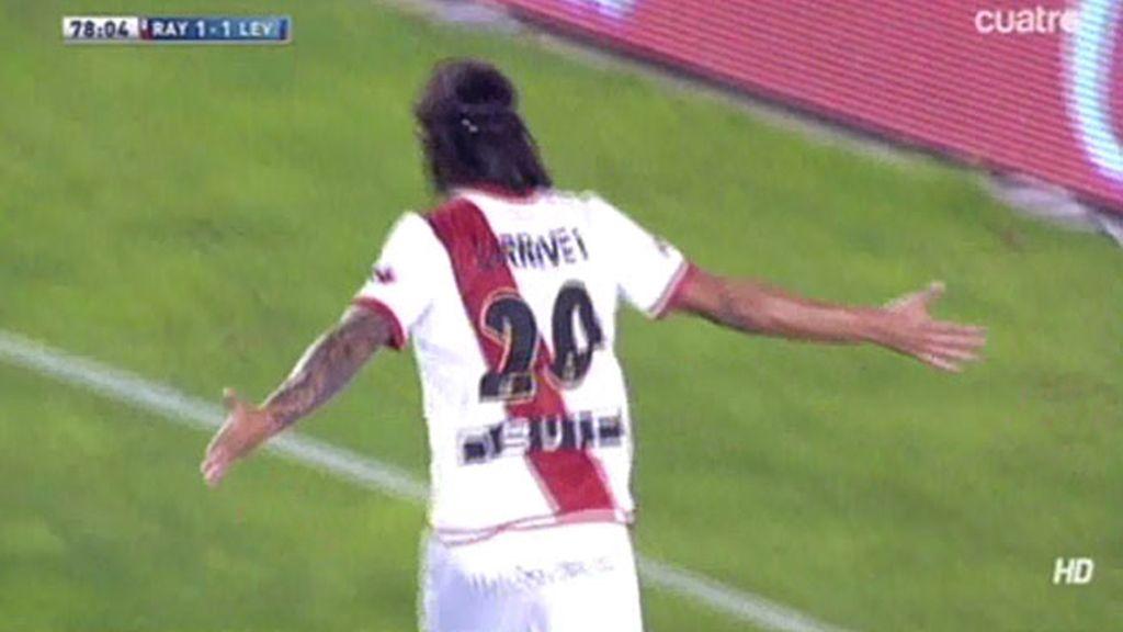 Gol de Larrivey (Rayo 1-1 Levante)