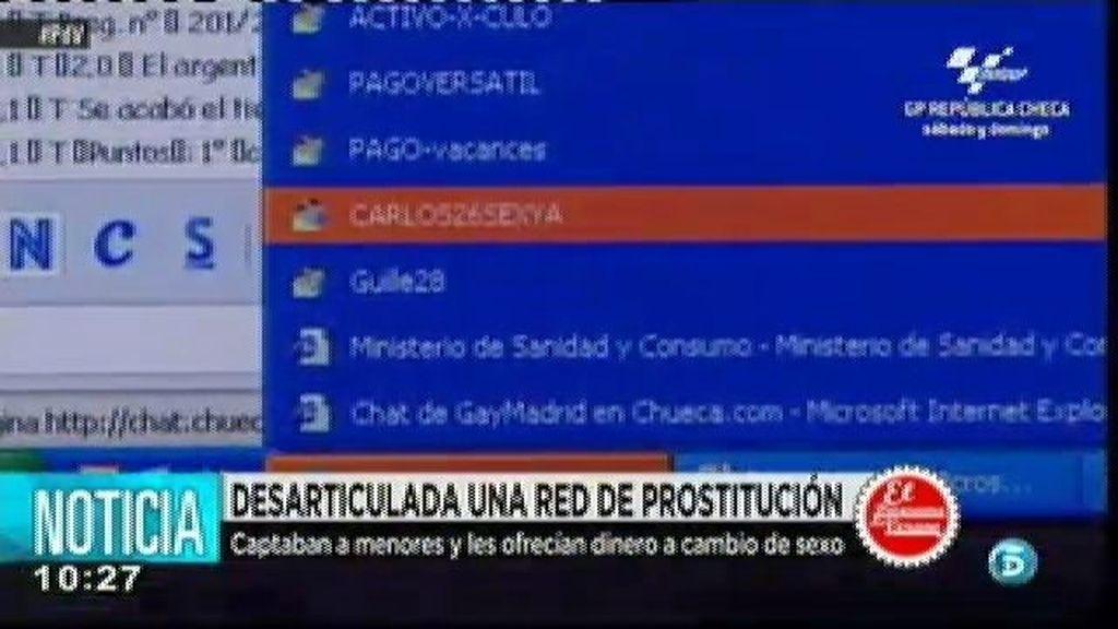 Desarticulada una red de prostitución