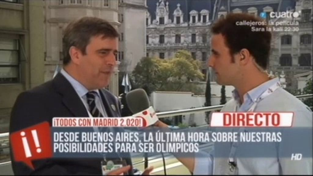 A punto de saber si Madrid será sede Olímpica en el 2020