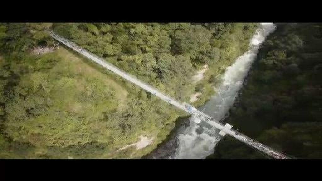 Salto al vacío desde un puente