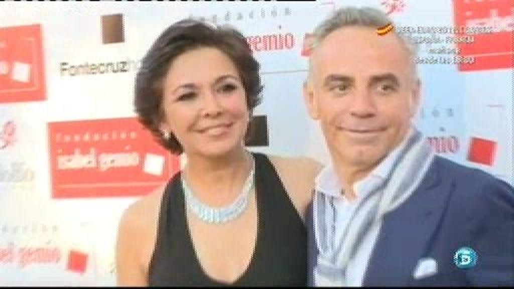Joaquín Torres celebra en su casa la cena benéfica de la Fundación Isabel Gemio