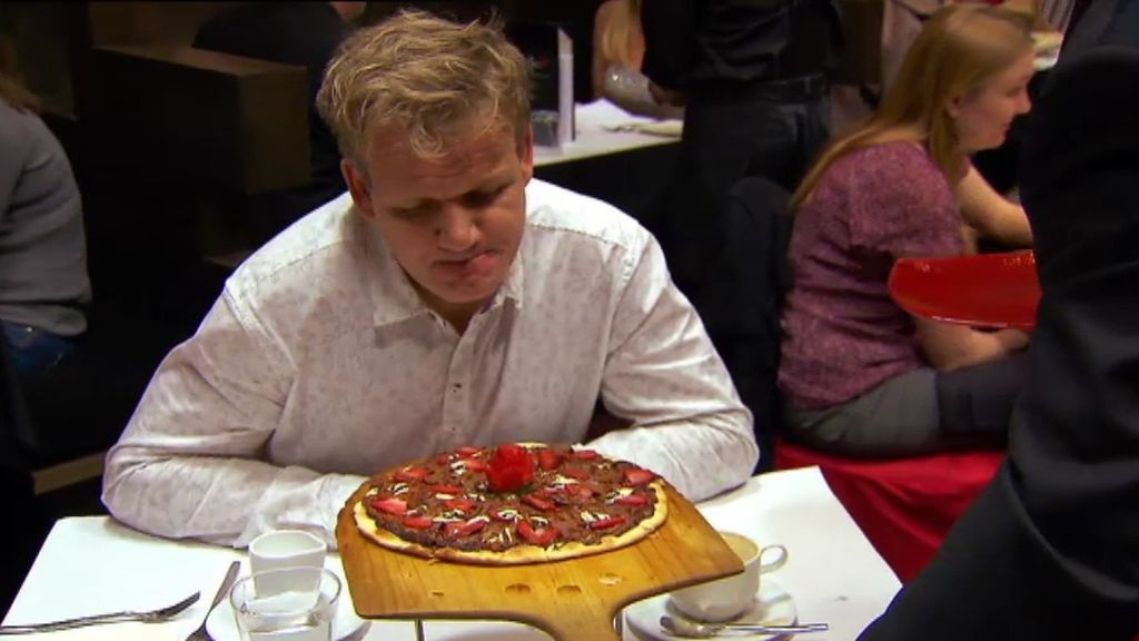 """Ramsay: """"Parece que alguien se ha limpiado el culo con esta pizza"""""""