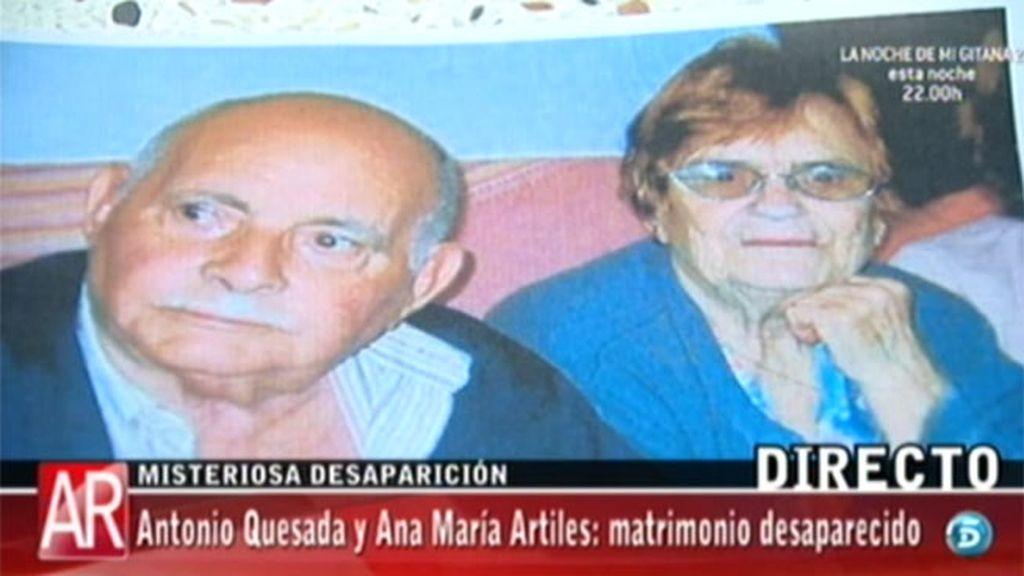 Antonio Quesada y Ana María Artiles, desaparecidos en Gran Canaria