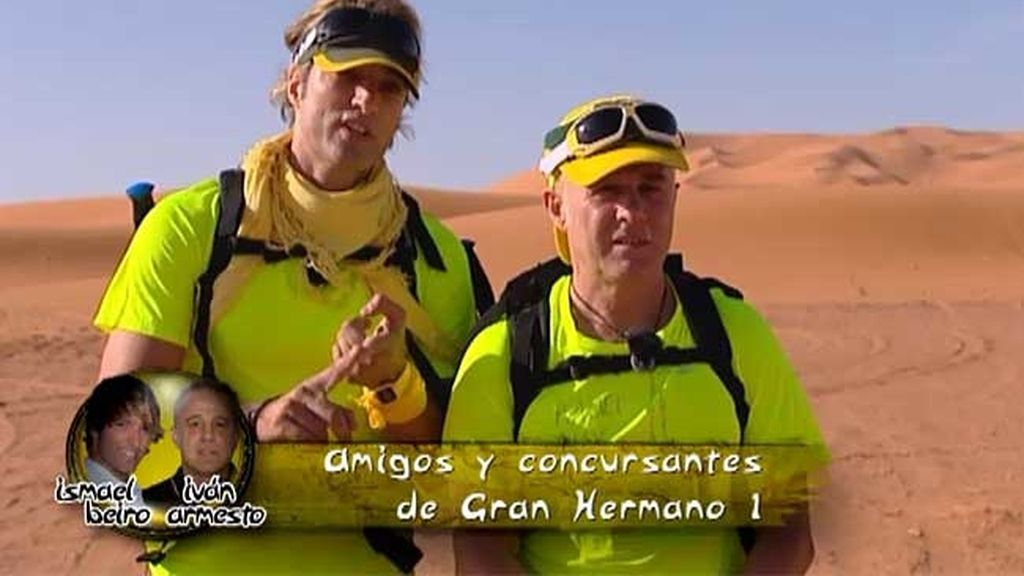 Equipo Amarillo: Iván Armesto e Ismael Beiro
