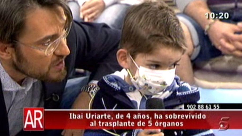 Recibe un transplante múltiple