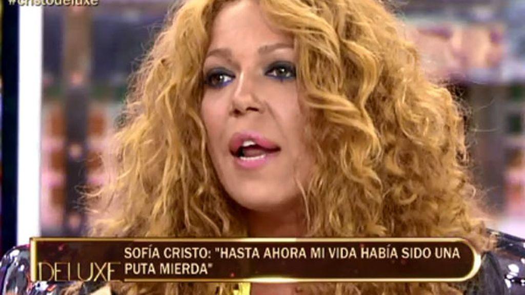 """Sofía Cristo: """"Vengo a la tele a mandar un mensaje contra la droga"""""""