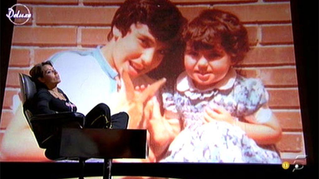 La relación de Mari Cielo con su hermano Andrés Bruguera