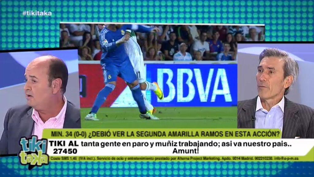 ¿Debió Sergio Ramos ver la segunda amarilla en Elche?