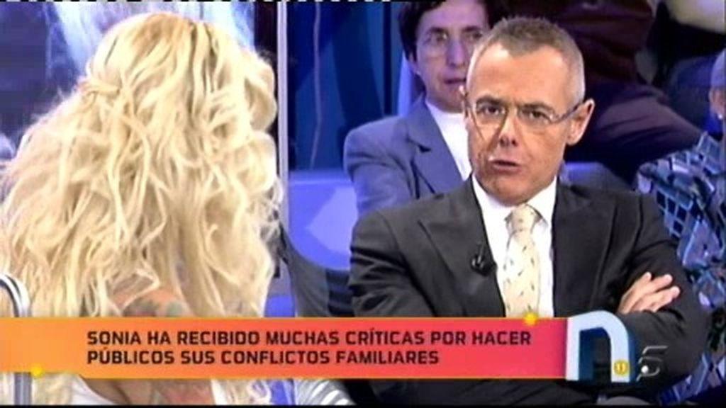 Jordi González defiende a Sonia