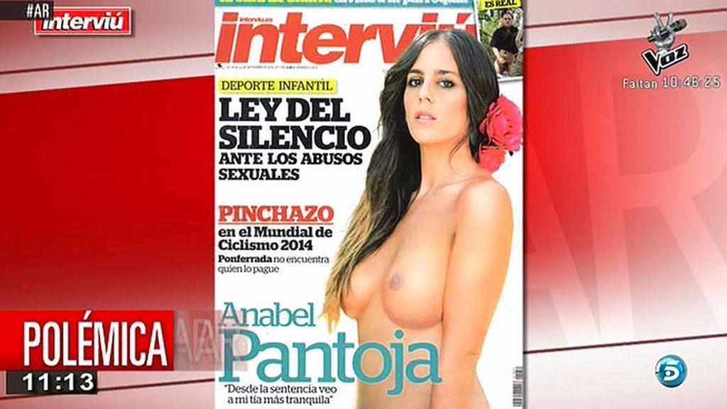 Anabel Pantoja se desnuda para 'Interviú'