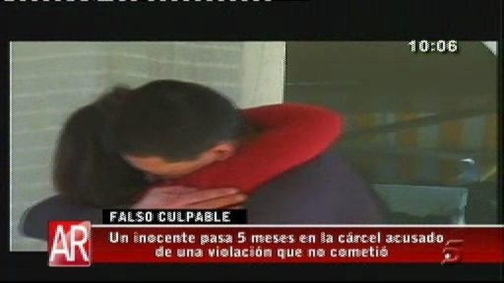 Santi ha pasado cinco meses en prisión por una violación que no cometió