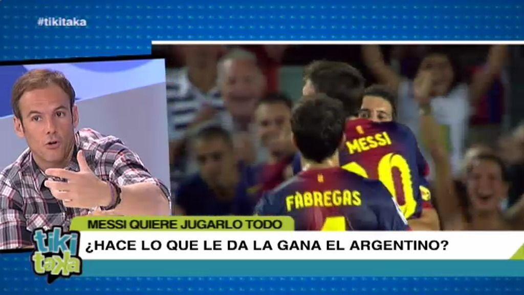 ¿Hace Messi lo que le da la gana?