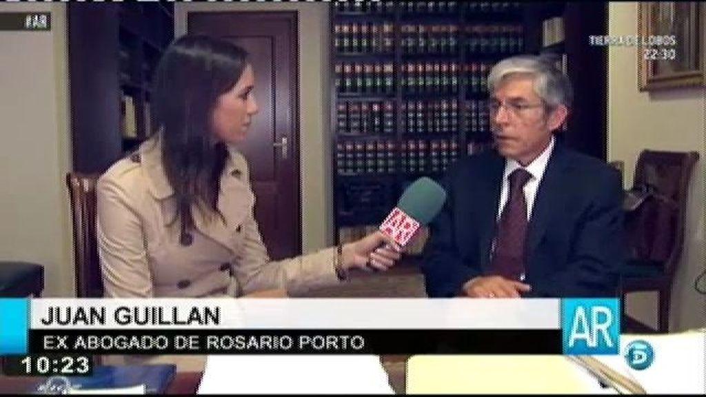 """Juan Guillán: """"Rosario estaba abatida y llorando durante el registro"""""""