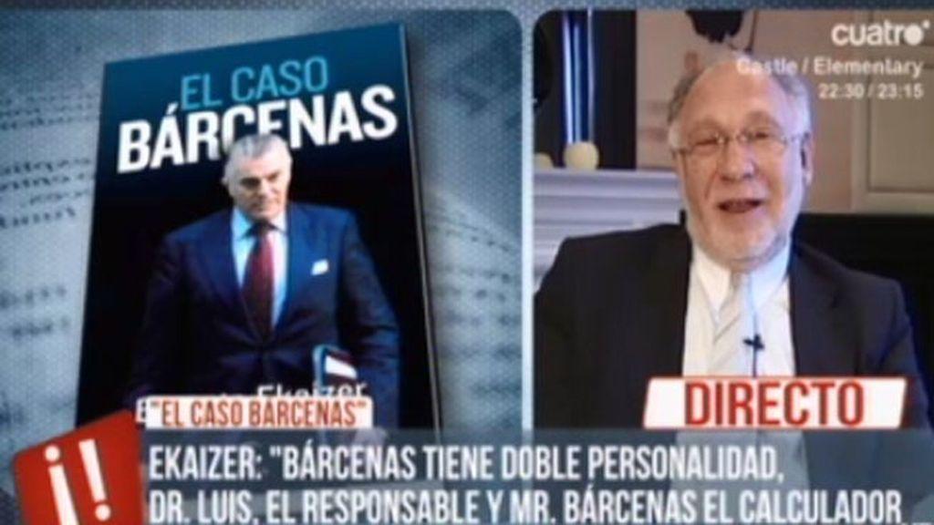 """Ernesto Ekaizer: """"Ahora creo que conocemos al verdadero Bárcenas, al gran personaje"""""""
