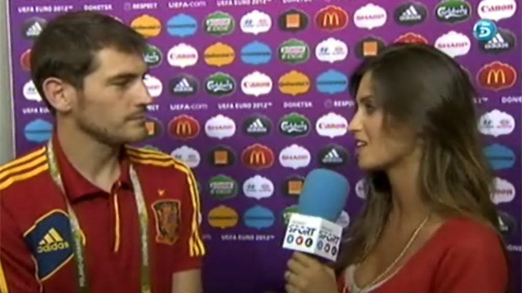 """Íker Casillas: """"Hemos sido claros y justos vencedores"""""""