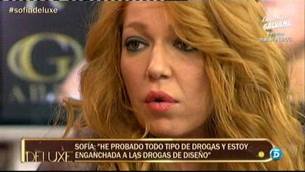 """Sofía Cristo: """"Soy adicta a las drogas"""""""