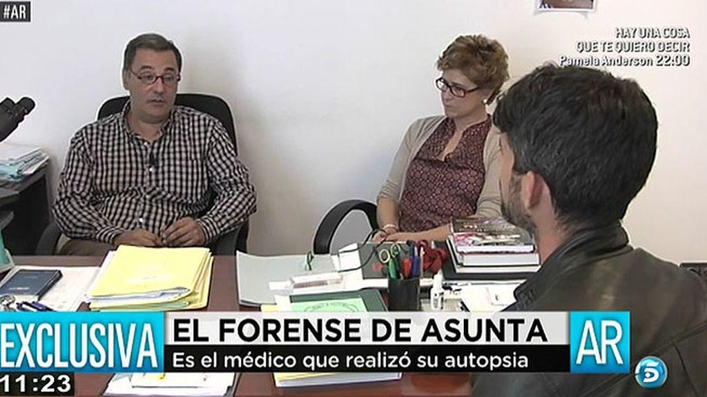 'AR' habla en exclusiva con el forense que realizó la autopsia de Asunta