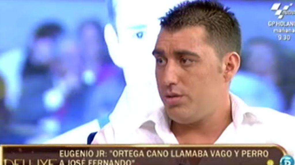 """Eugenio Jr: """"José Fernando ha vivido un infierno desde que murió Rocío Jurado"""""""