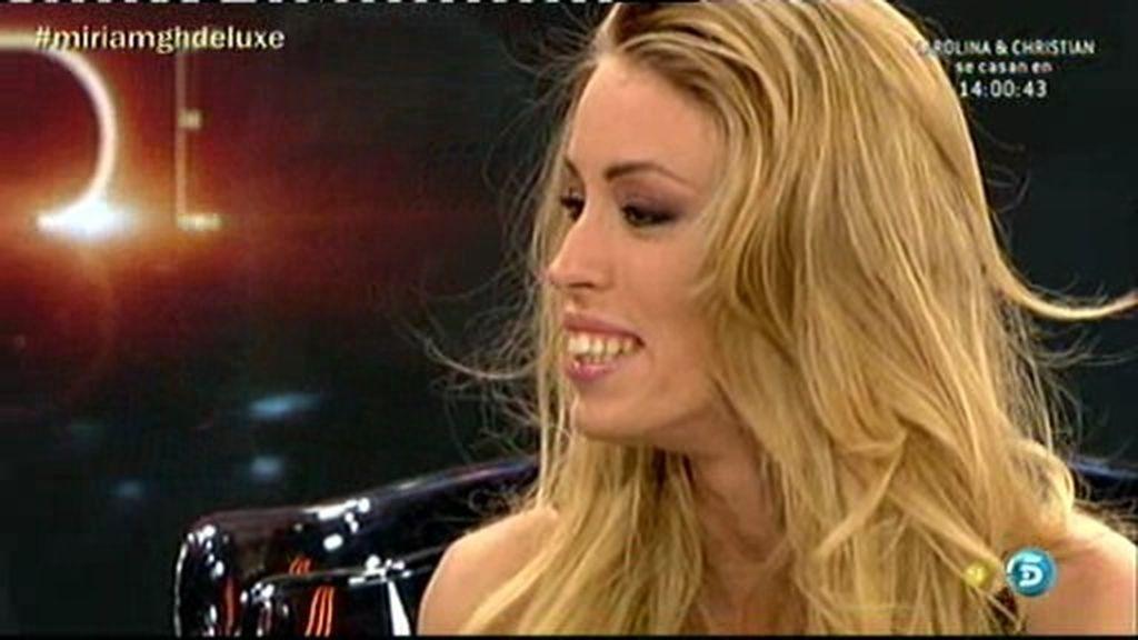 """Miriam: """"Miguel me niega que haya habido algo con Amor"""""""