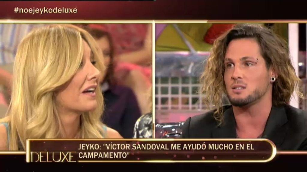 ¿Pasó algo entre Víctor Sandoval y Jeyko?