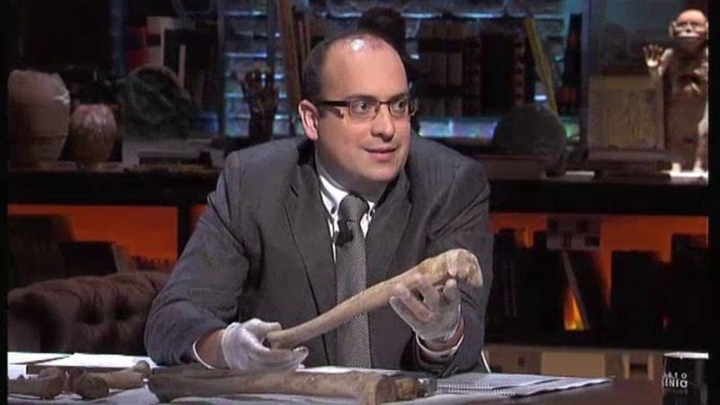 """Aitor Curiel: """"Diría que los huesos tienen más de 50 años, pero menos de 100"""""""