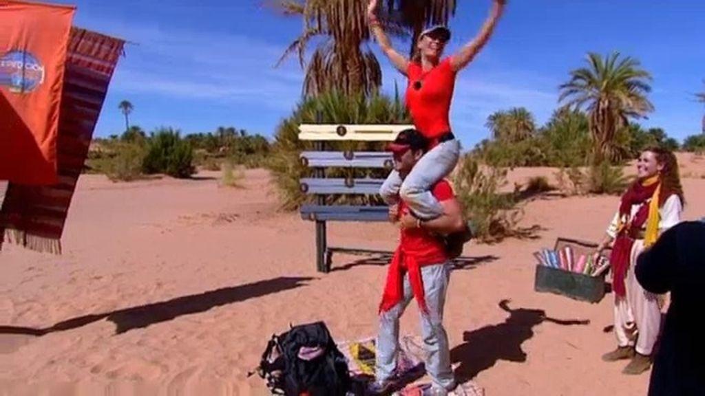 Cristina y Alejandro ganan la primera etapa