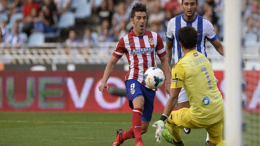 Villa ya le da los puntos al Atlético
