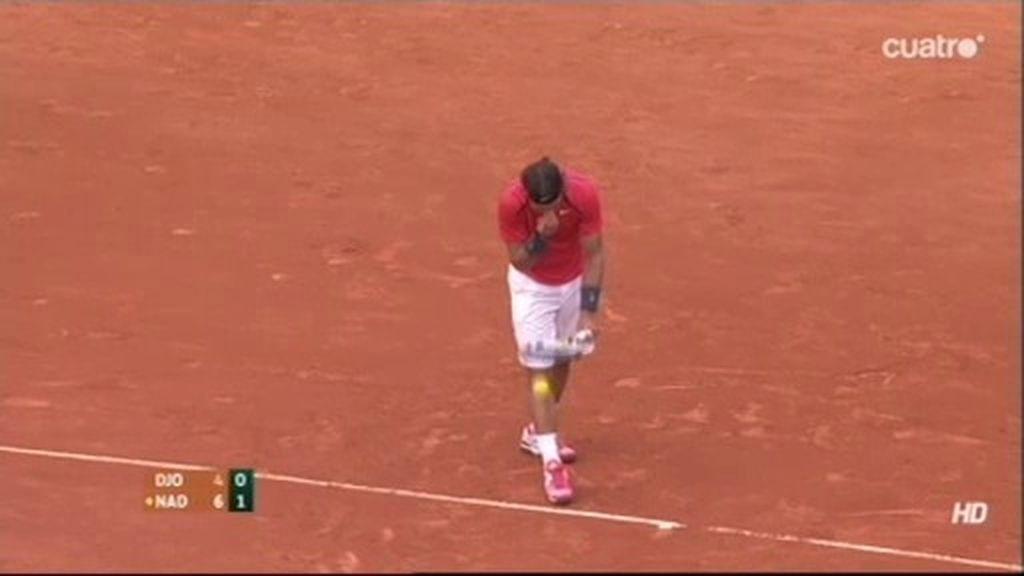 Djokovic le da un punto a Rafa