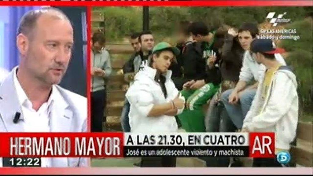"""Pedro García Aguado: """"Se sienten indefensos y atacan"""""""