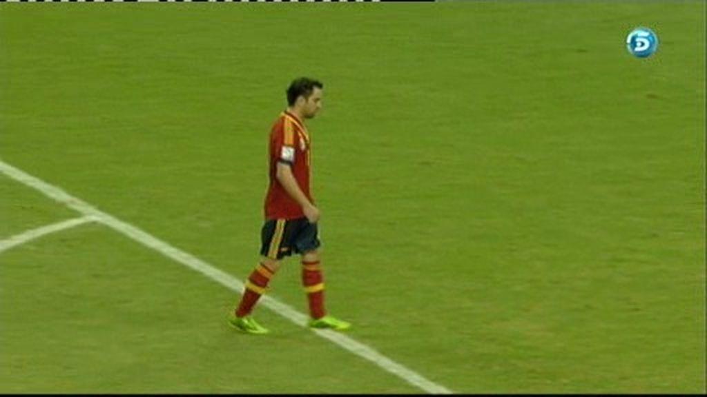 España 1-1 Italia (penalti de Xavi)