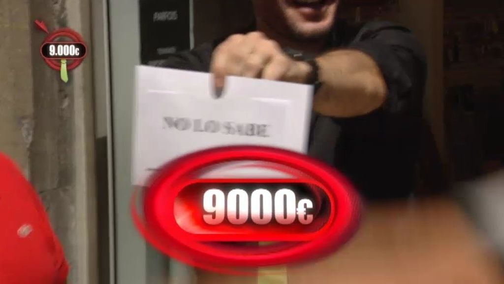 Simon se lleva 9.000 euros en la pregunta a ciegas
