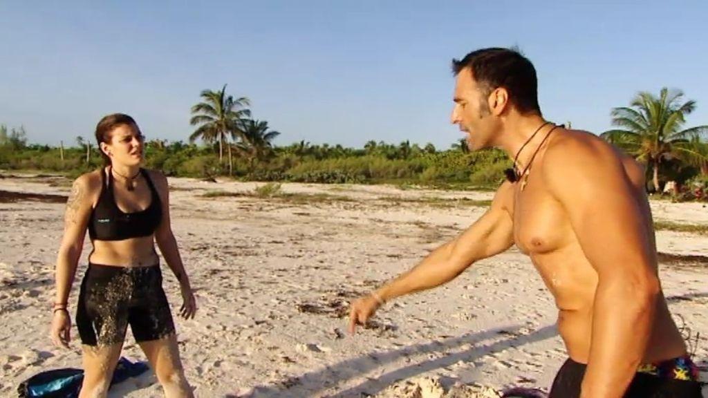 Beatriz abandona el entrenamiento y se enfrenta a Rafa Lomana