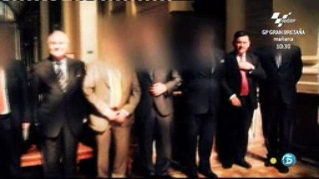 El acompañante misterioso de Carlos Dívar