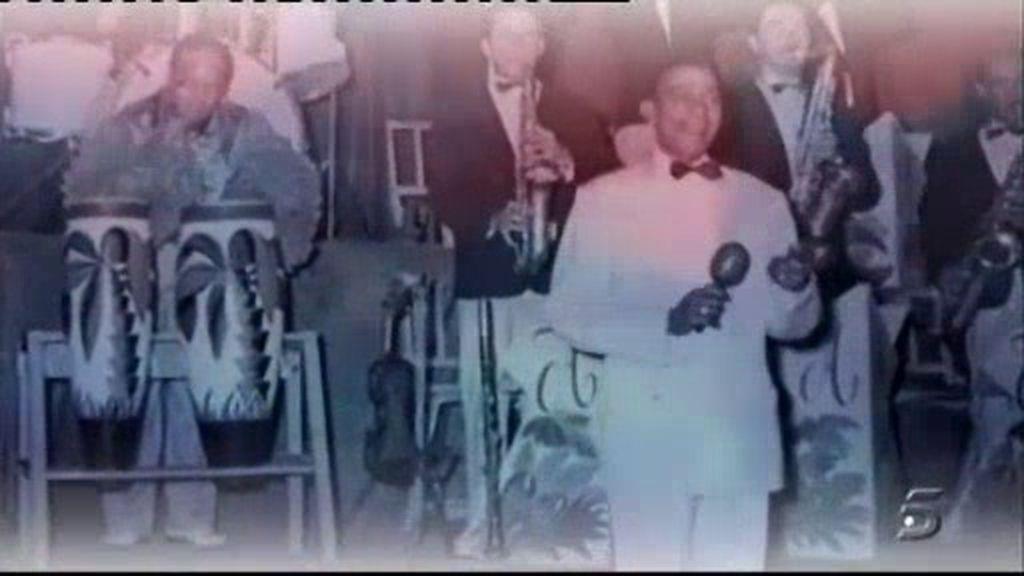 El homenaje de María Teresa a Antonio Machín