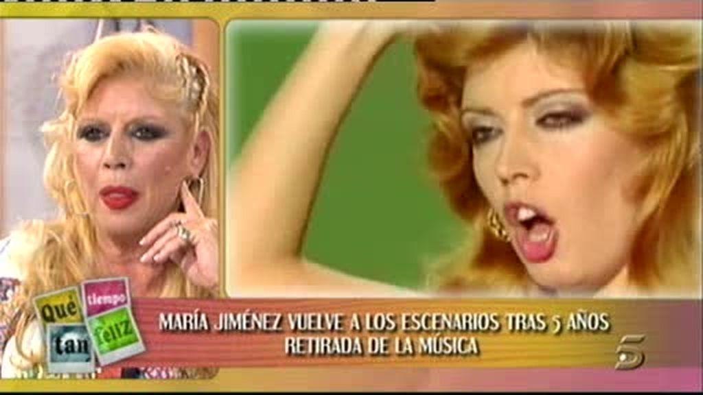 María Jiménez, el regreso