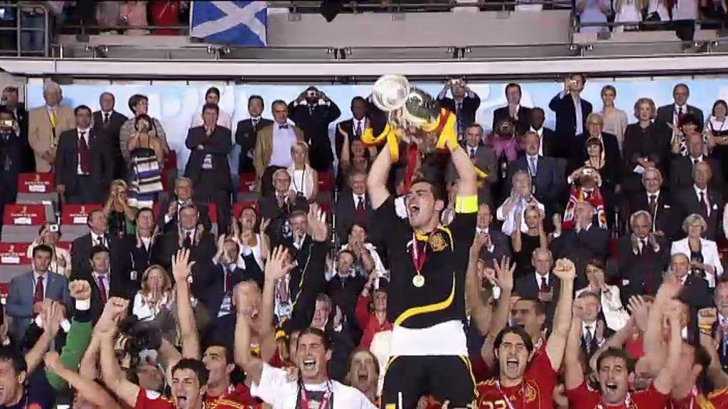¡España gana la Eurocopa de 2008!