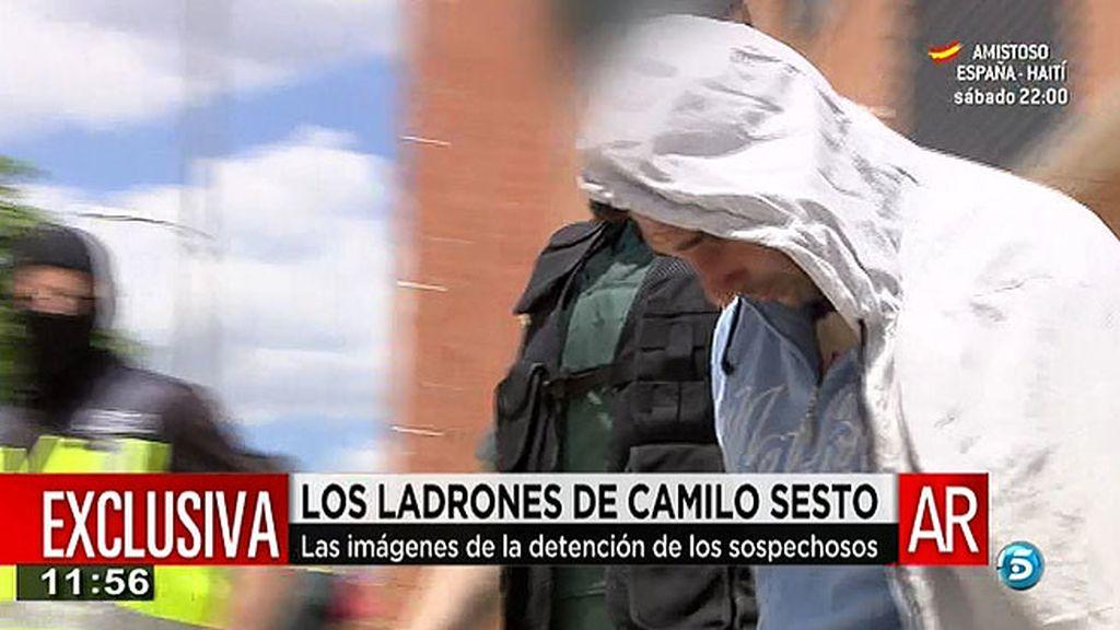 La secuencia íntegra de la detención de los asaltantes de la casa de Camilo Sesto