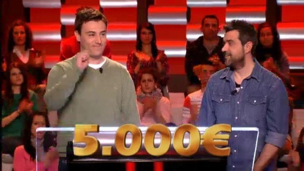 Tomás y Pascual aseguran 5.000 € al no tener clara su respuesta final
