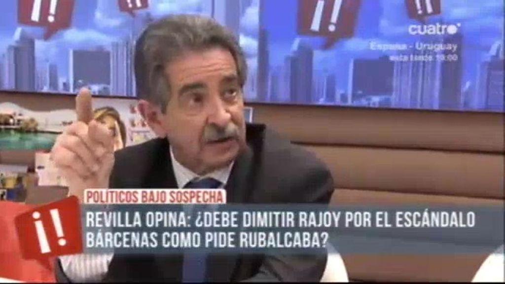 """Revilla: """"Bárcenas tiene una cara cínica"""""""