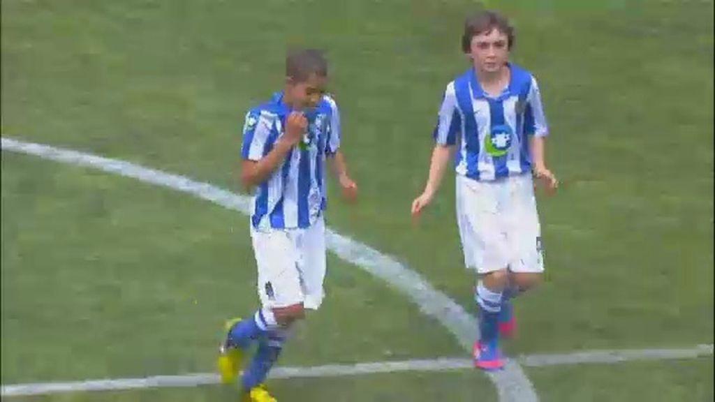 Gol: Atlético de Madrid 0-1 Real Sociedad (min. 11)